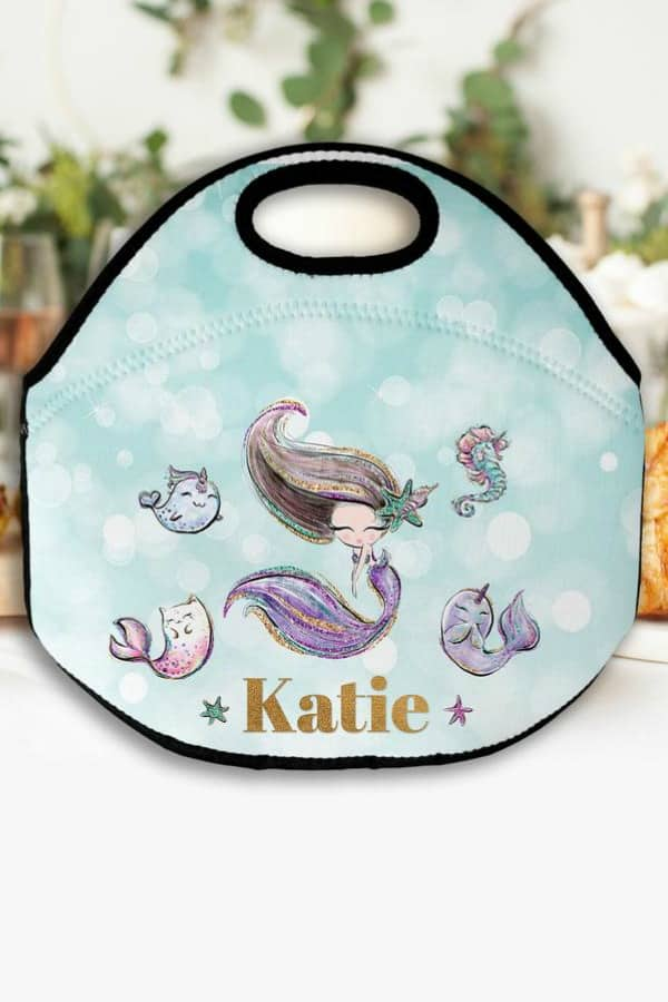 Mermaid Lunch Tote