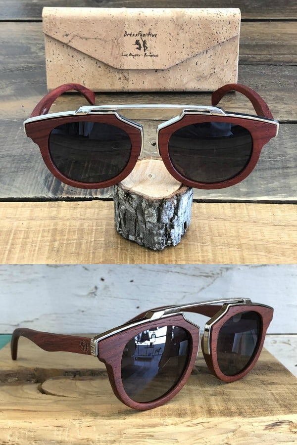 Top Wood Sunglasses By DressPositive