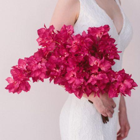 Gemma Bridal Bouquet (Bougainvillea)