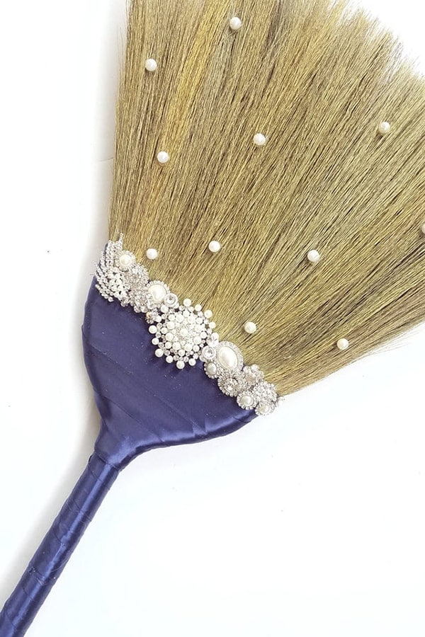brooms baubles bride