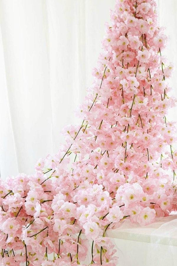 Artificial Cherry Blossom Garland