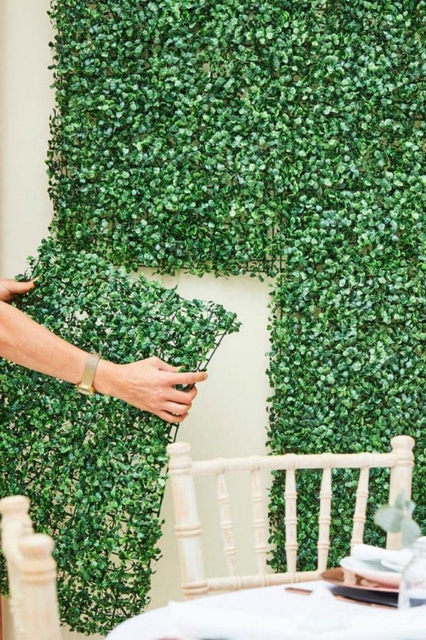 Artificial Foliage Wall Tiles