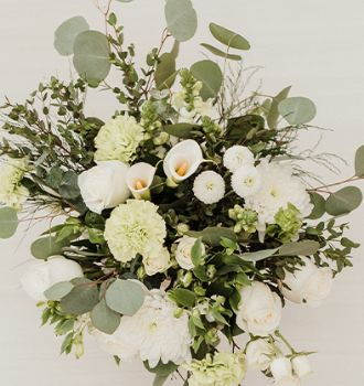 Bohemian Green Collection - Fifty Flowers Wedding Collections - Pre-arranged wedding flower packs