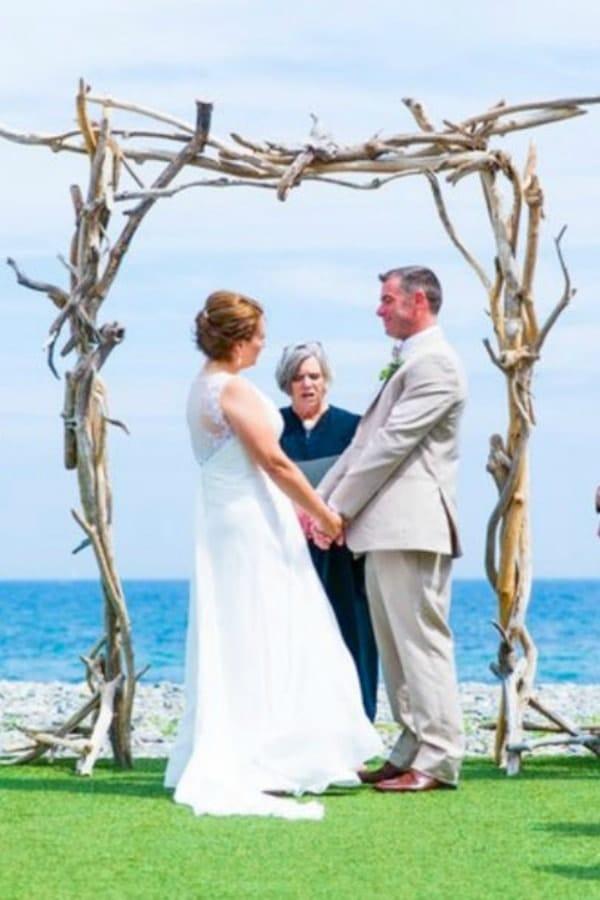 Driftwood Wedding Arch Kit