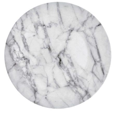 Marble Pattern Melamine Dinner Plates