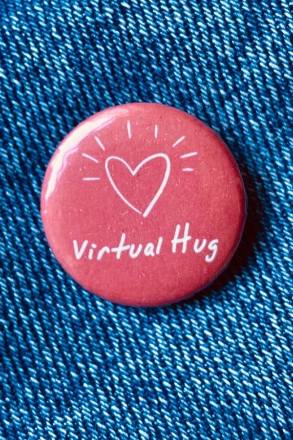 Virtual Hug Button