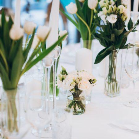 minimalist wedding decorations
