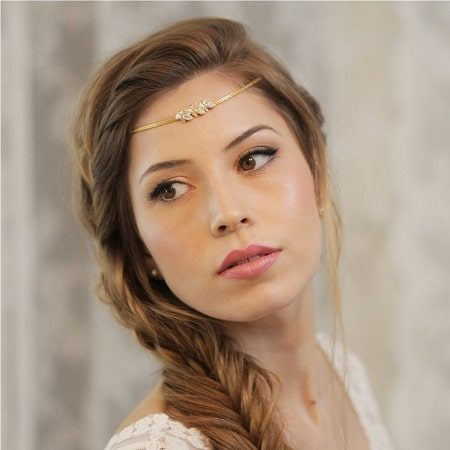 Boho Bridal Forehead Band