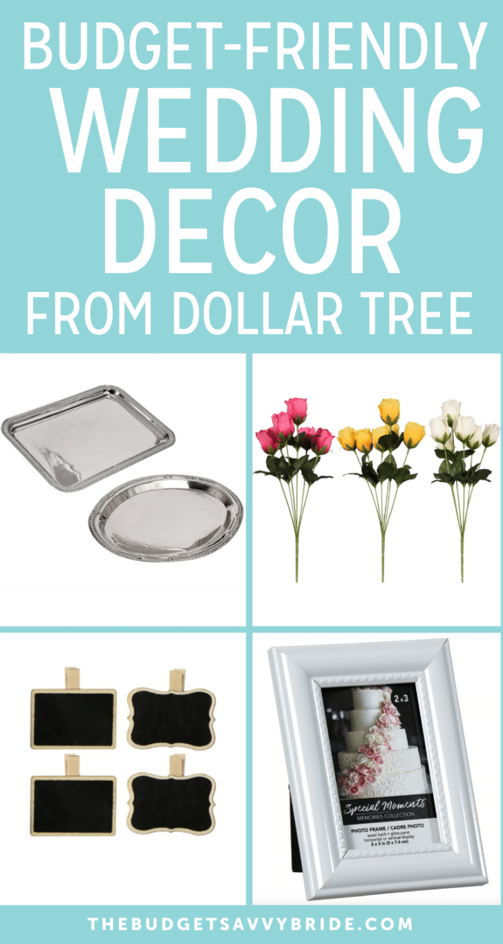 40 Awesome And Affordable Wedding Decor Finds From Dollar Tree