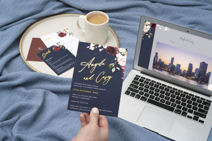 Joy Wedding Planning Tools, Websites, and Stationery
