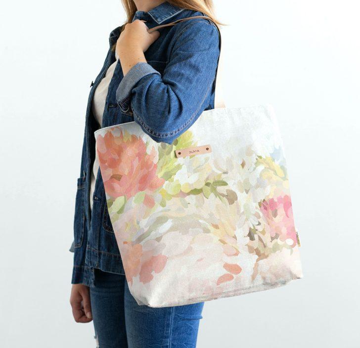 Minted Custom Printed Tote Bag