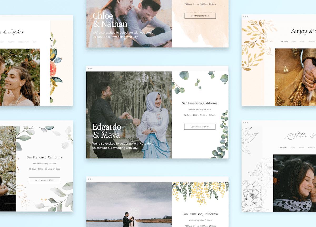Joy Wedding Websites and Wedding Planning Tools