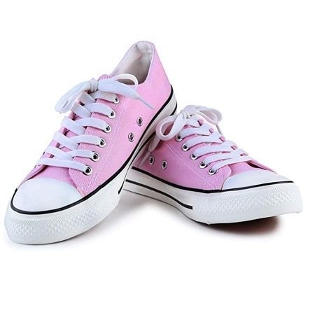Women's Pink All Star Canvas Shoes