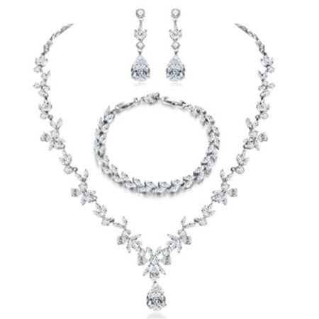 Bridal Jewelry Set by Hadskiss Jewelry