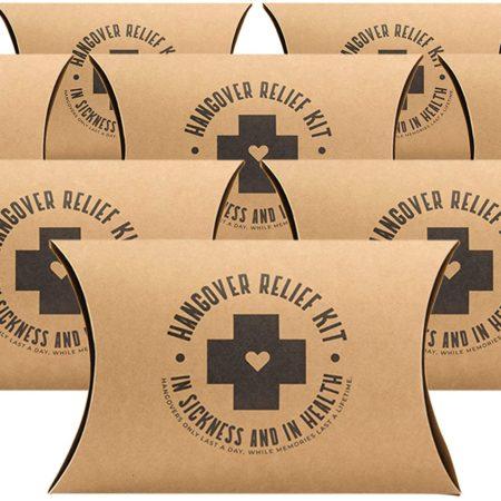 Bachelorette Party Hangover Kit Boxes - 10 Pack