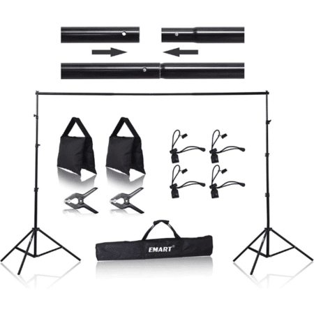 8.5' x 10' Backdrop Stand