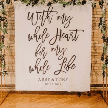 Personalized Tapestry Backdrop