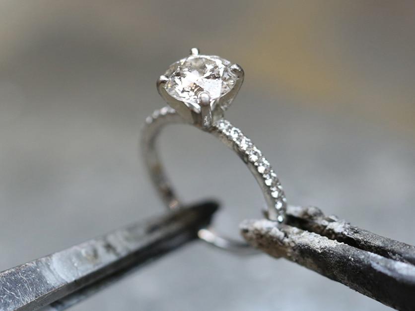 blue nile engagement ring settings