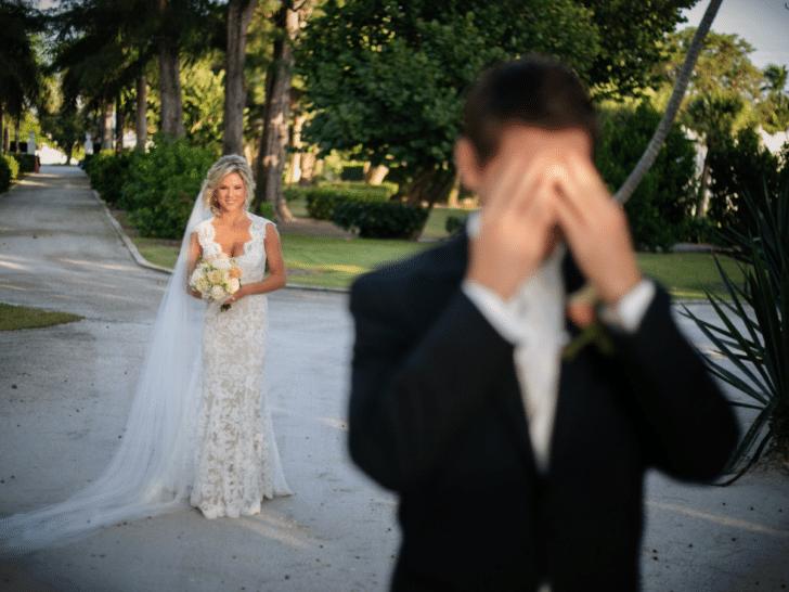 first look wedding planning