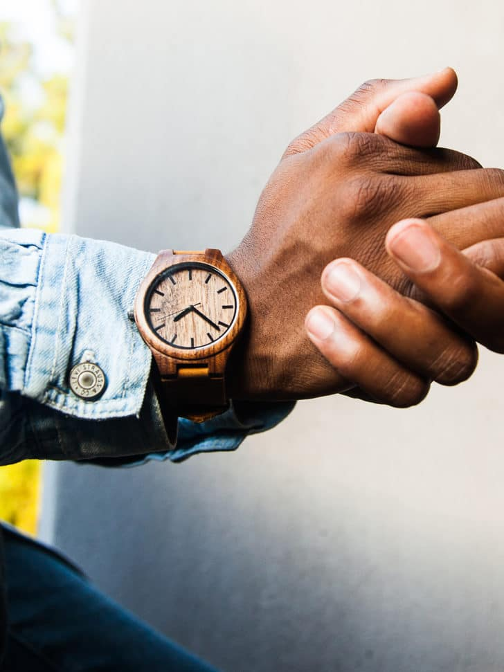 Personalized Wooden Watches from Grain + Oak
