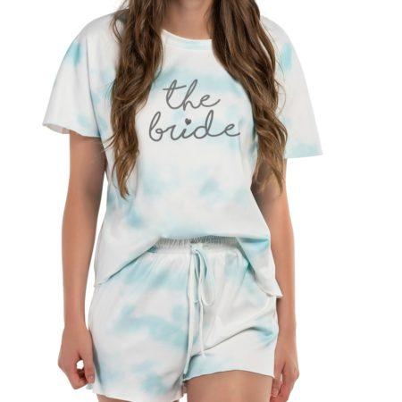 Bride Tie-Dye Pajamas