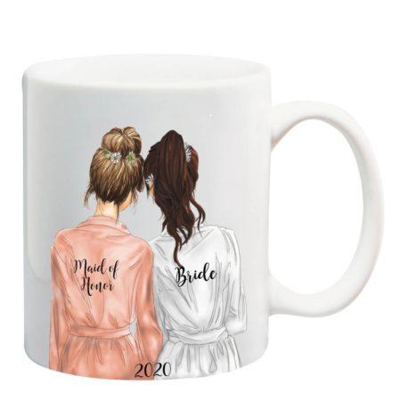 Maid of Honor or Bridesmaid Mug