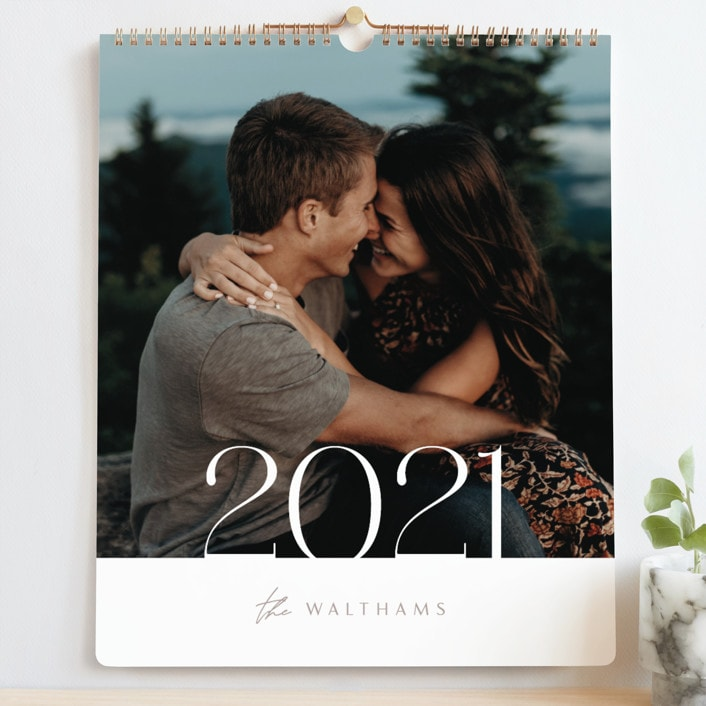 minted custom calendars