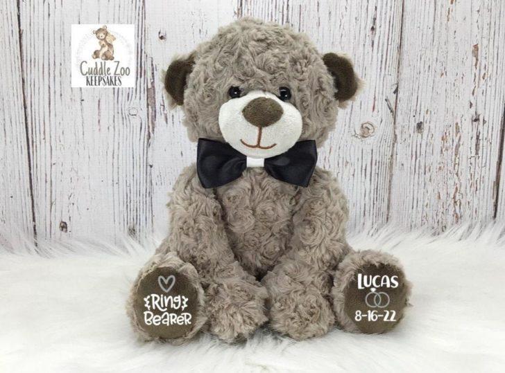 CuddleZooKeepsakes Ring Bear