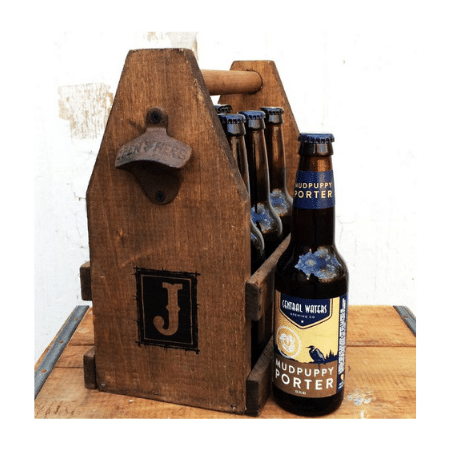Wedding Gifts for spouse on your big day-Alternative Men's Gift Basket Beer Carrier