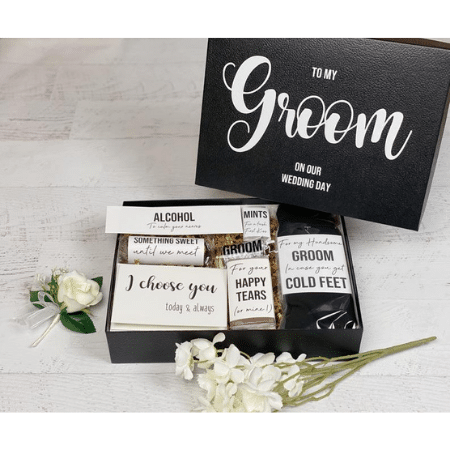 Wedding Gifts for spouse on your big day-Groom Survival Kit