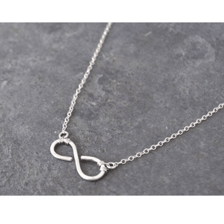 Wedding Gifts for spouse on your big day - Sterling Silver Infinity Necklace