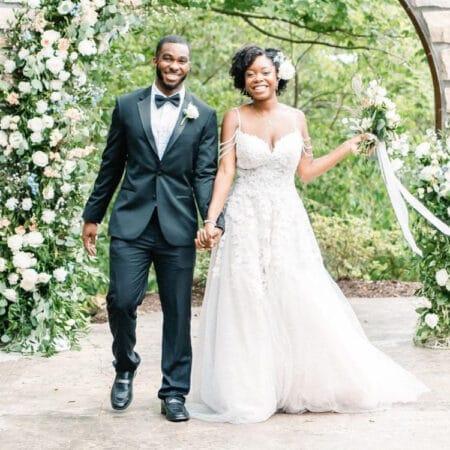 suit shop real wedding
