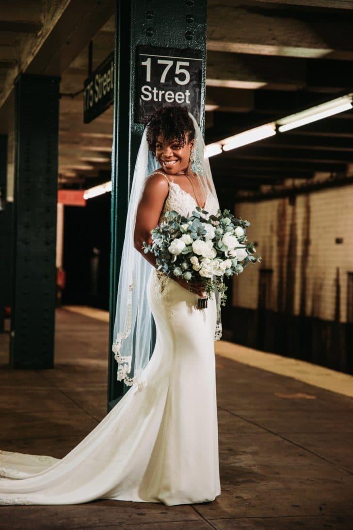 NYC wedding photography - NY wedding photos - something borrowed blooms