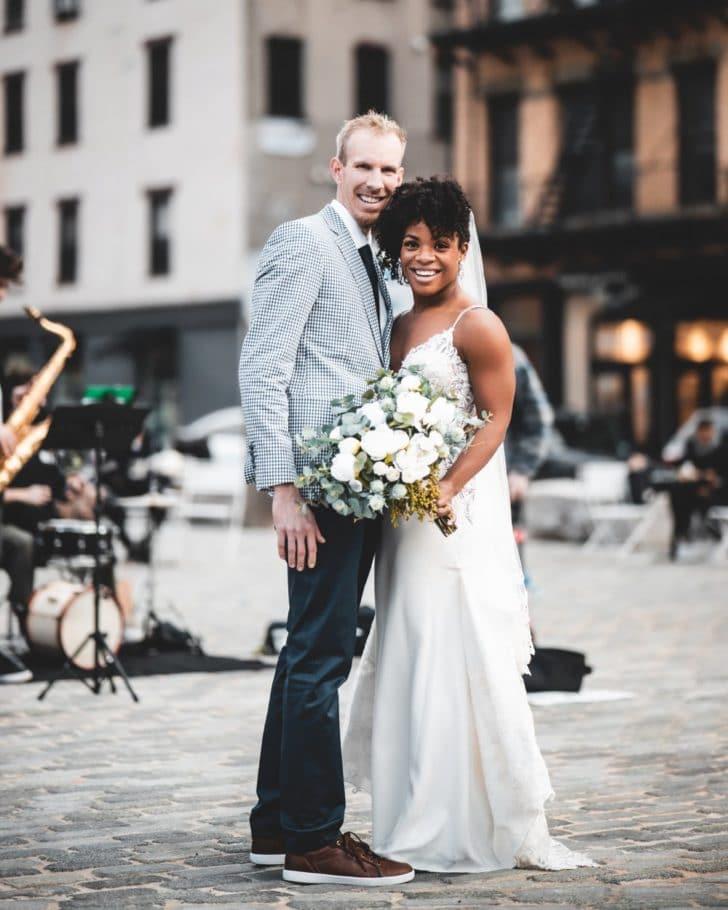 bride and groom - NY wedding photos