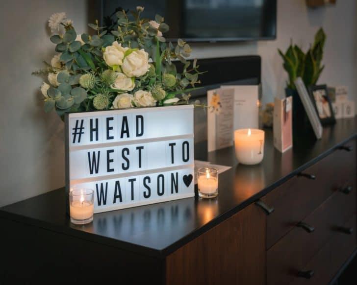home wedding - pandemic bride