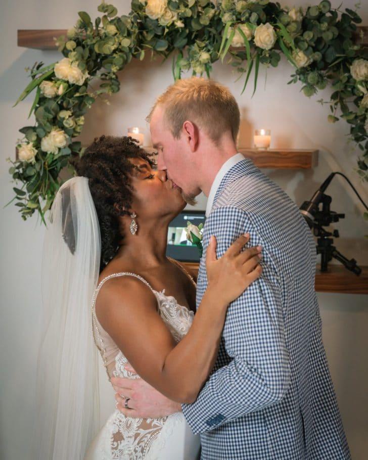 pandemic weddings - zoom wedding