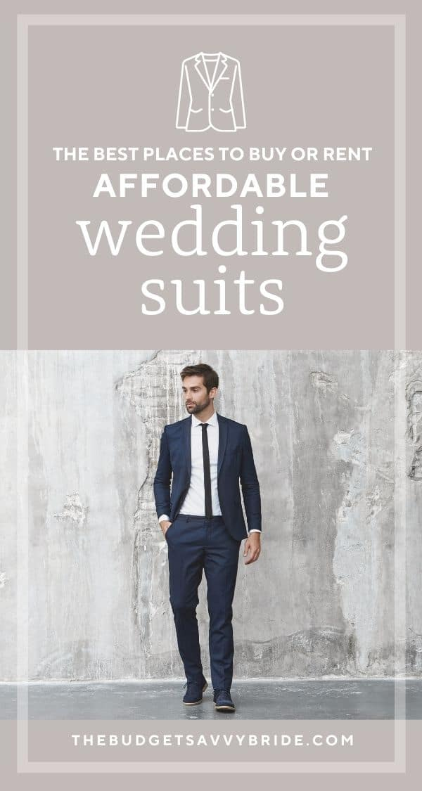 where to buy or rent wedding suits for grooms and groomsmen