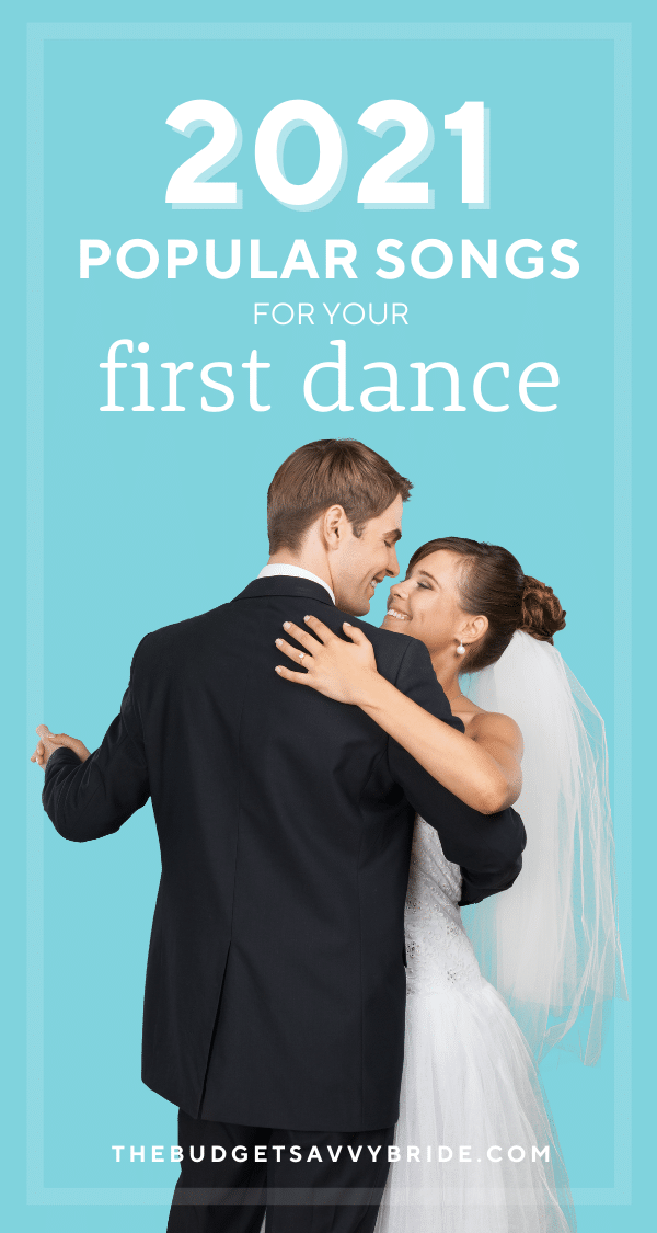 popular songs for your wedding first dance