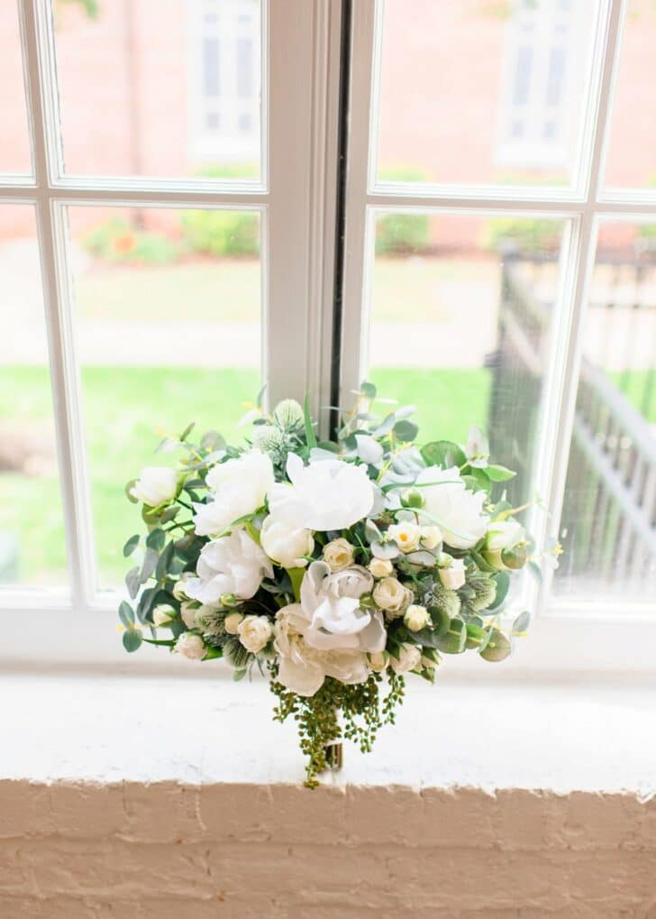 Something Borrowed Blooms flowers - silk bouquet - Jane collection
