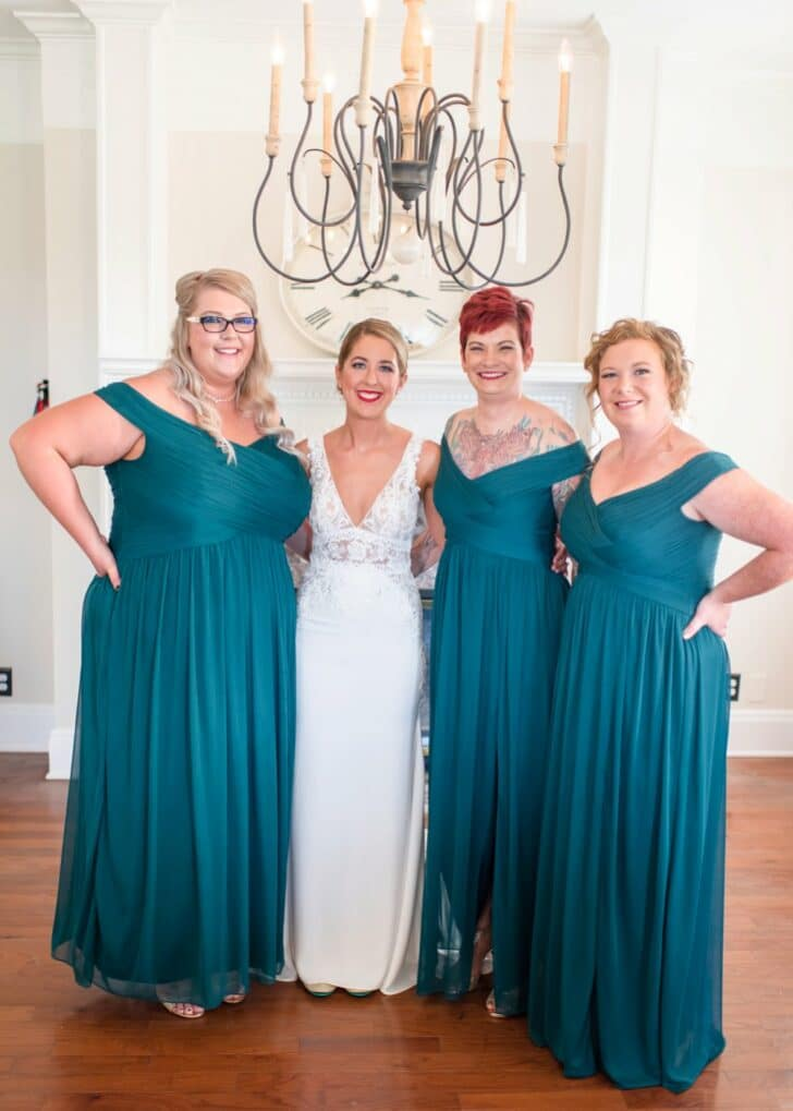emerald bridesmaid dresses - David's Bridal bridesmaid dresses