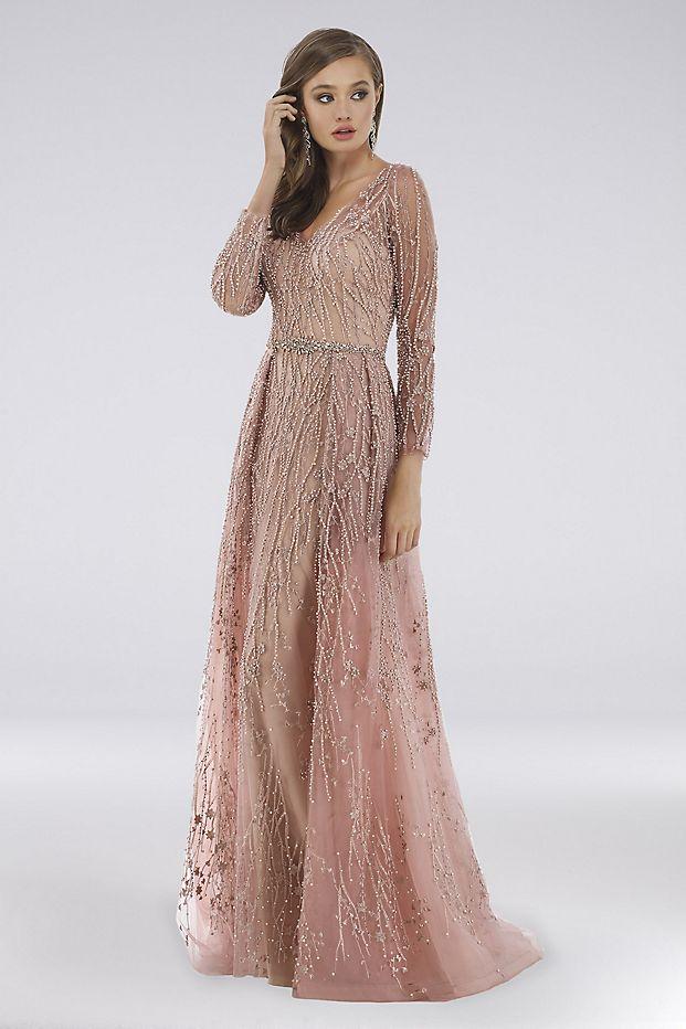 Bridgerton Wedding Fashion Inspiration   Lara Delaney Lace Ball Gown with Pearls from David's Bridal