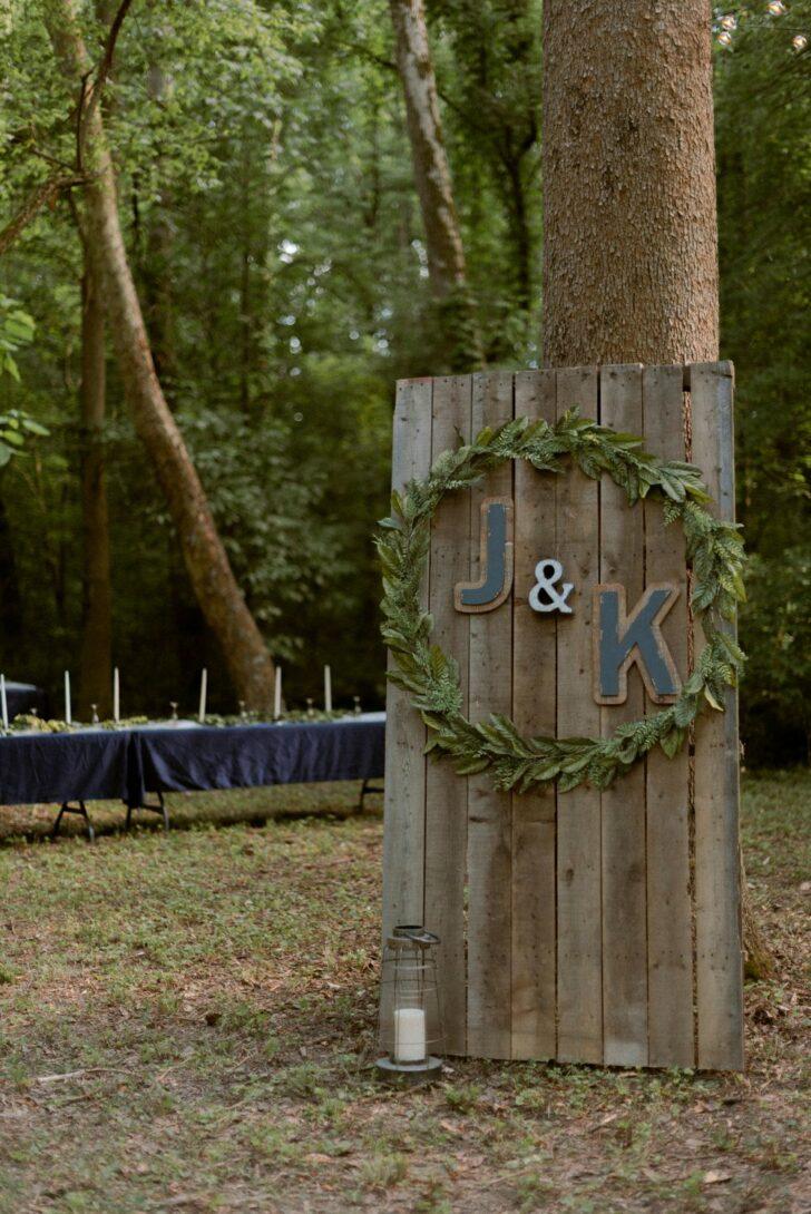 bride and groom - romantic fairytale wedding - outdoor wedding - wedding in the woods
