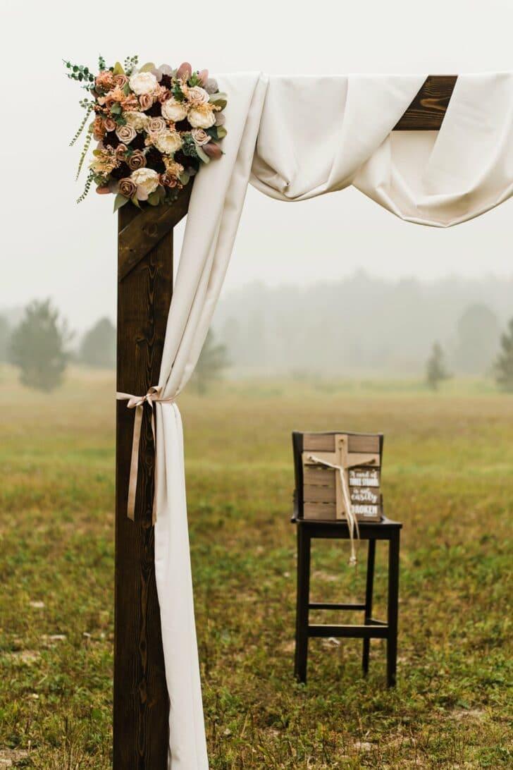 wedding arch - DIY wedding decor