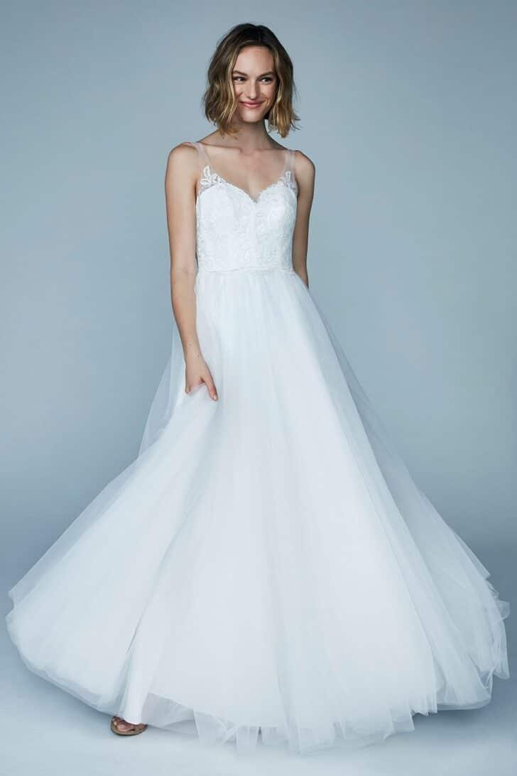 Bashful Wedding Dress - Vow'd Weddings Spring 2021 Wedding Dress Collection
