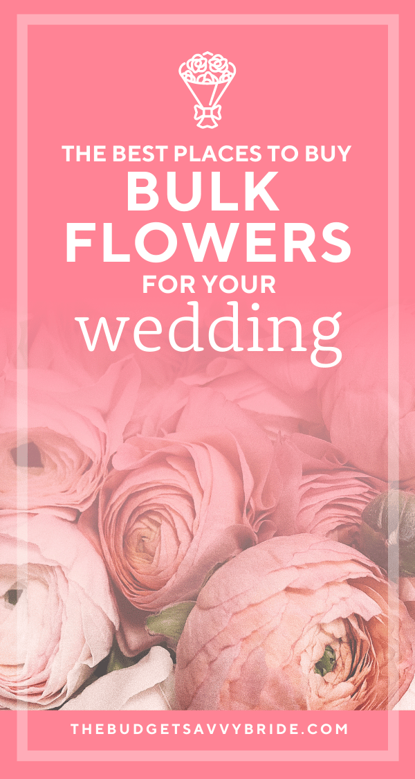 where to buy wedding flowers for DIY weddings