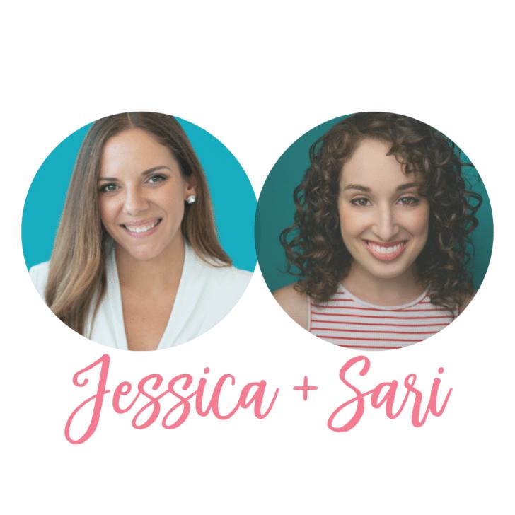 Jessica Bishop and Sari Weinerman