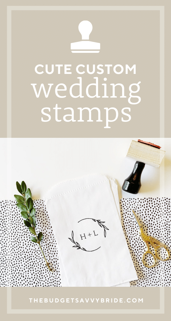 personalized wedding stamps