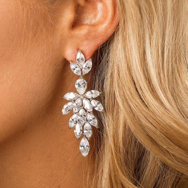 theluxebride earrings
