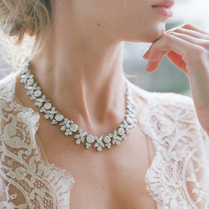 Thomas Laine Bridal Necklace