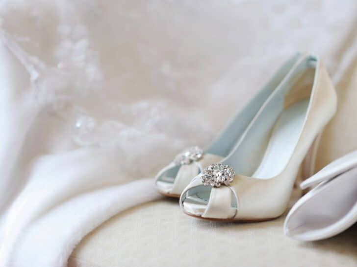 wedding shoe photo
